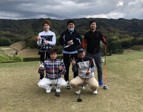 ゴルフ開催